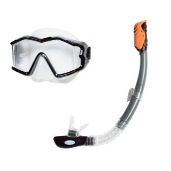 """Набір для плавання INTEX арт. 55961 """"Профі"""" (маска 55982,трубка 55924) (8+років) чорн."""