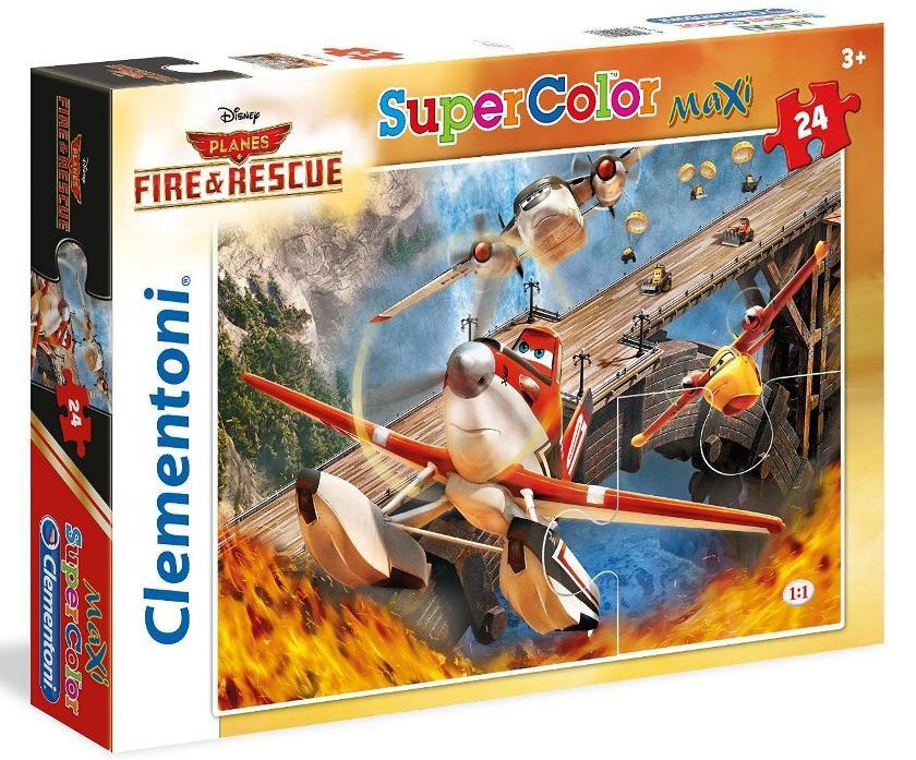 """Іграшка  пазли ТМ""""Clementoni"""" арт. 24460 Літачки 24 эл. MAXI"""