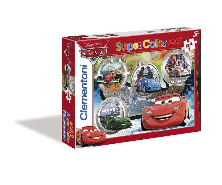 """Іграшка пазли ТМ """"Clementoni"""" арт.24432 Тачки 24 эл.MAXI"""