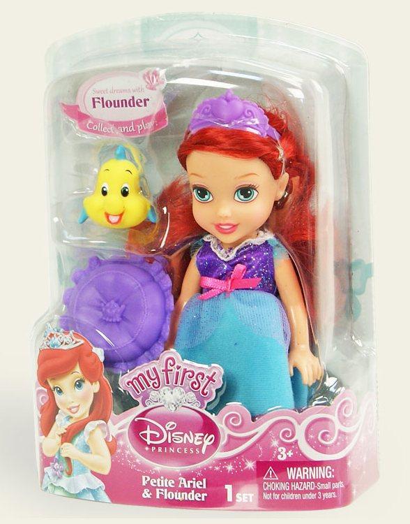 Іграшка лялька Disney Аріель арт.75491/1, блістер 7*14*19см