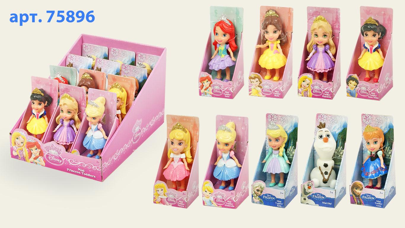 Іграшка лялька Disney арт.75896 7см. в ас., у дісплеї  21,5*15*13см