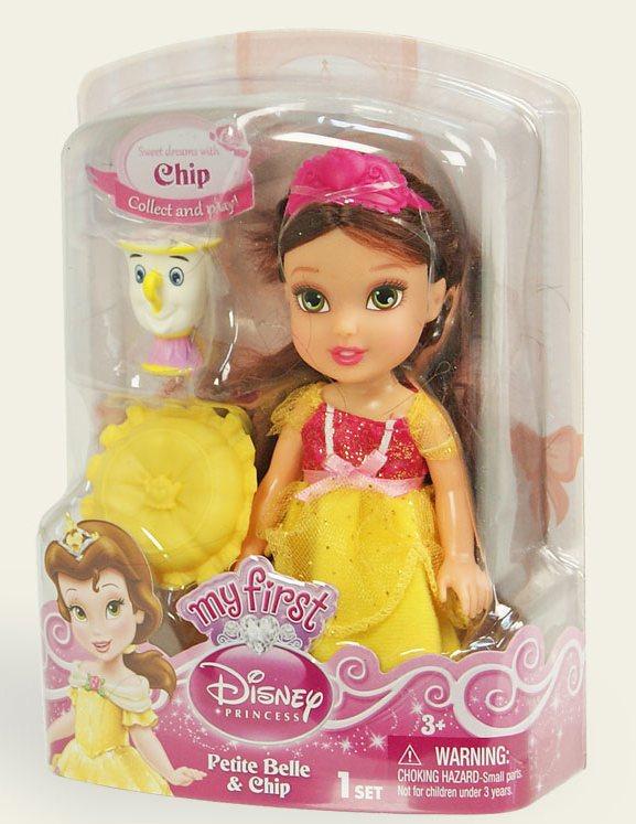 Іграшка лялька Disney Бель арт.86862 (75823), блістер 7*14*19см