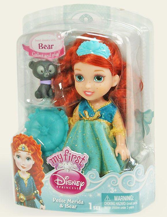 Іграшка лялька Disney Меріда арт.75491/5, блістер 7*14*19см