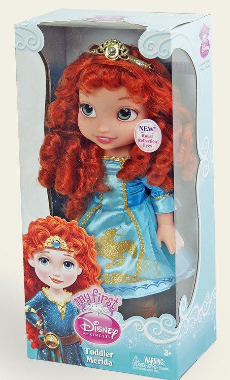 Іграшка лялька Disney Меріда арт.75828 (75830) в кор. 12*18*38см