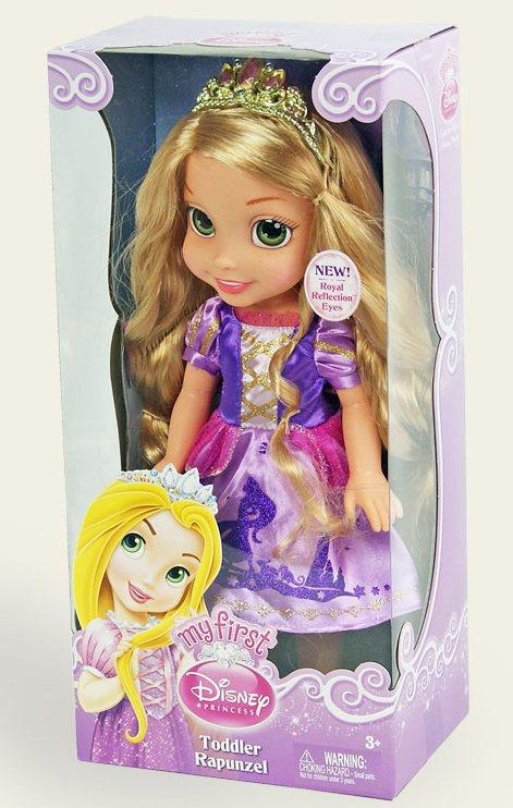 Іграшка лялька Disney Рапунцель арт.75828 (75829), в кор. 12*18*38см