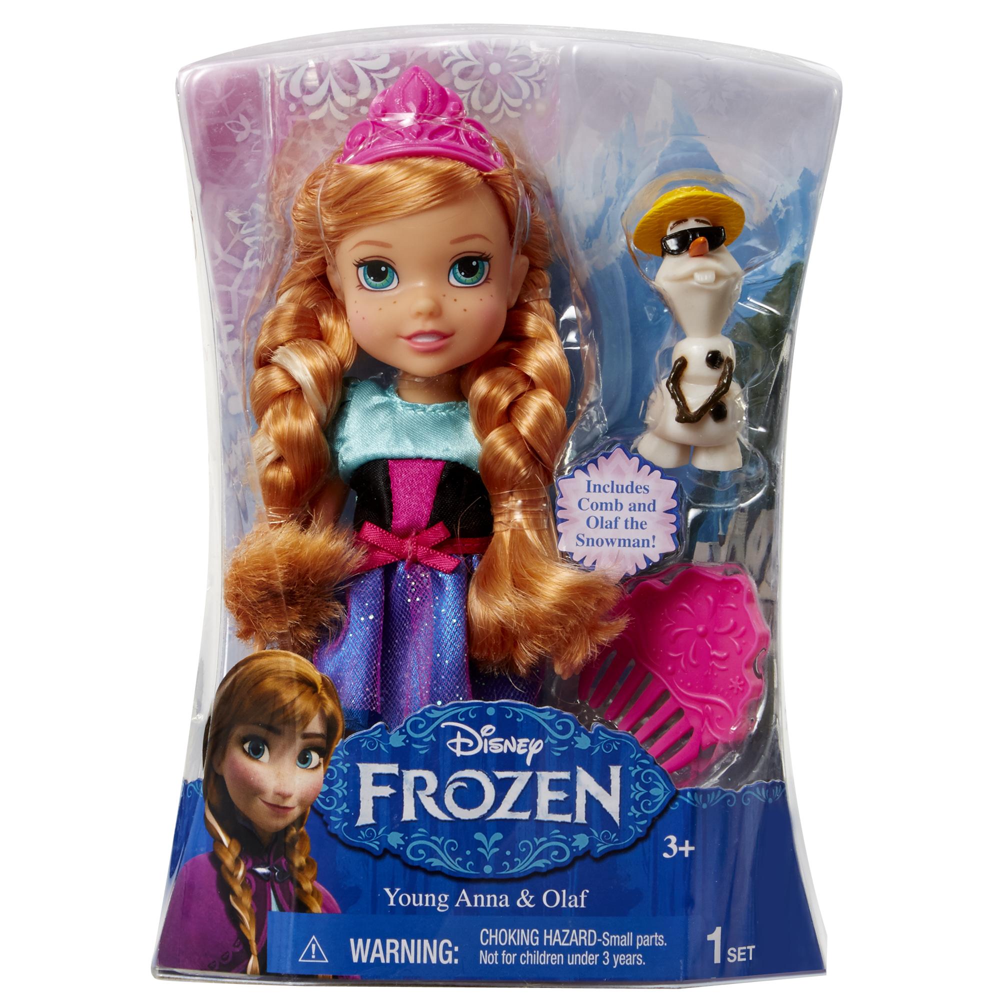 Іграшка лялька Frozen Анна арт.31004 (31012), блістер 7*14*19см