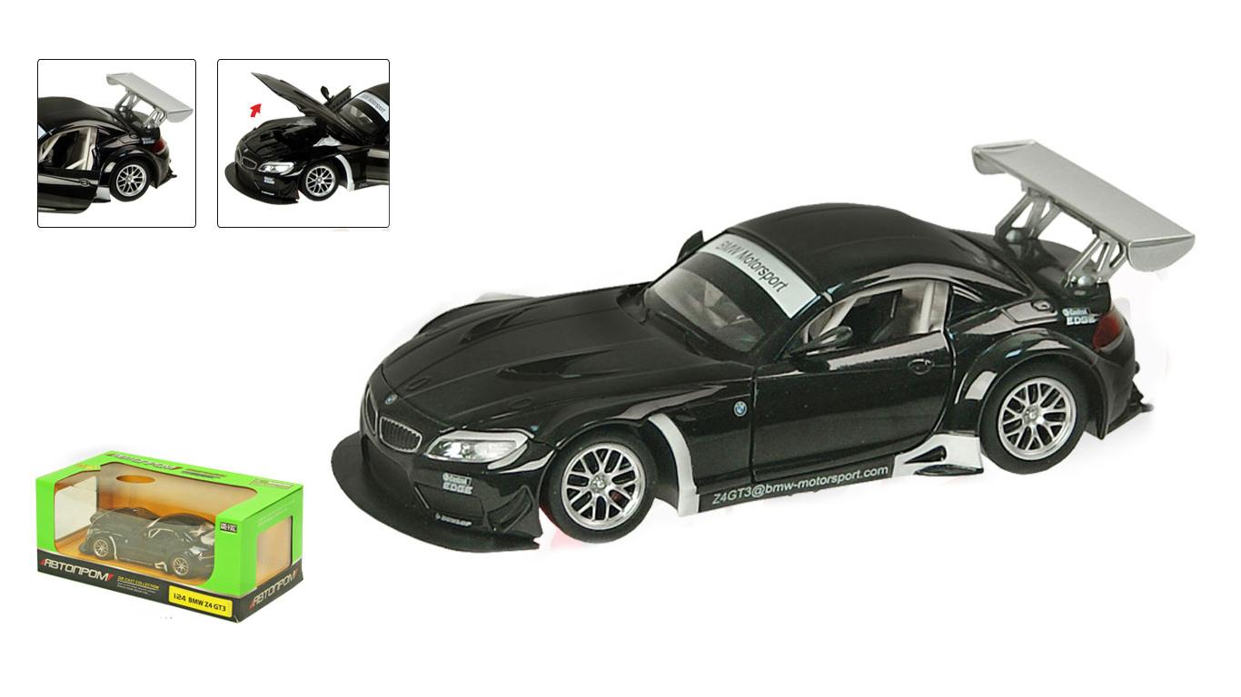Іграшка машина метал BMW Z4 GT3 Артикул: 68251A
