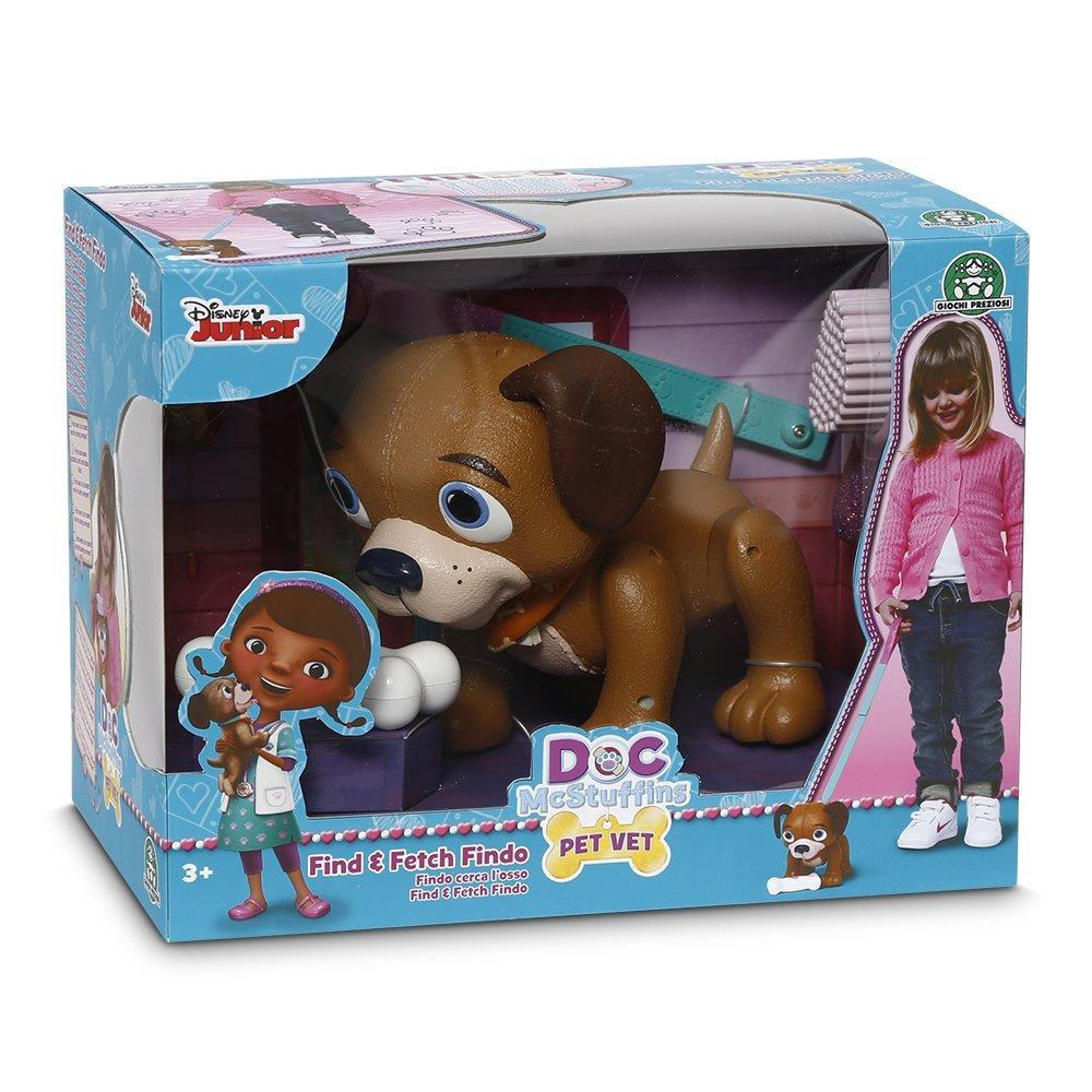 Іграшка інтеракт собачка Фіндо ТМ Doc MC Stuffins арт.GPH90085/UA на батар., в кор. 26*17*20 см