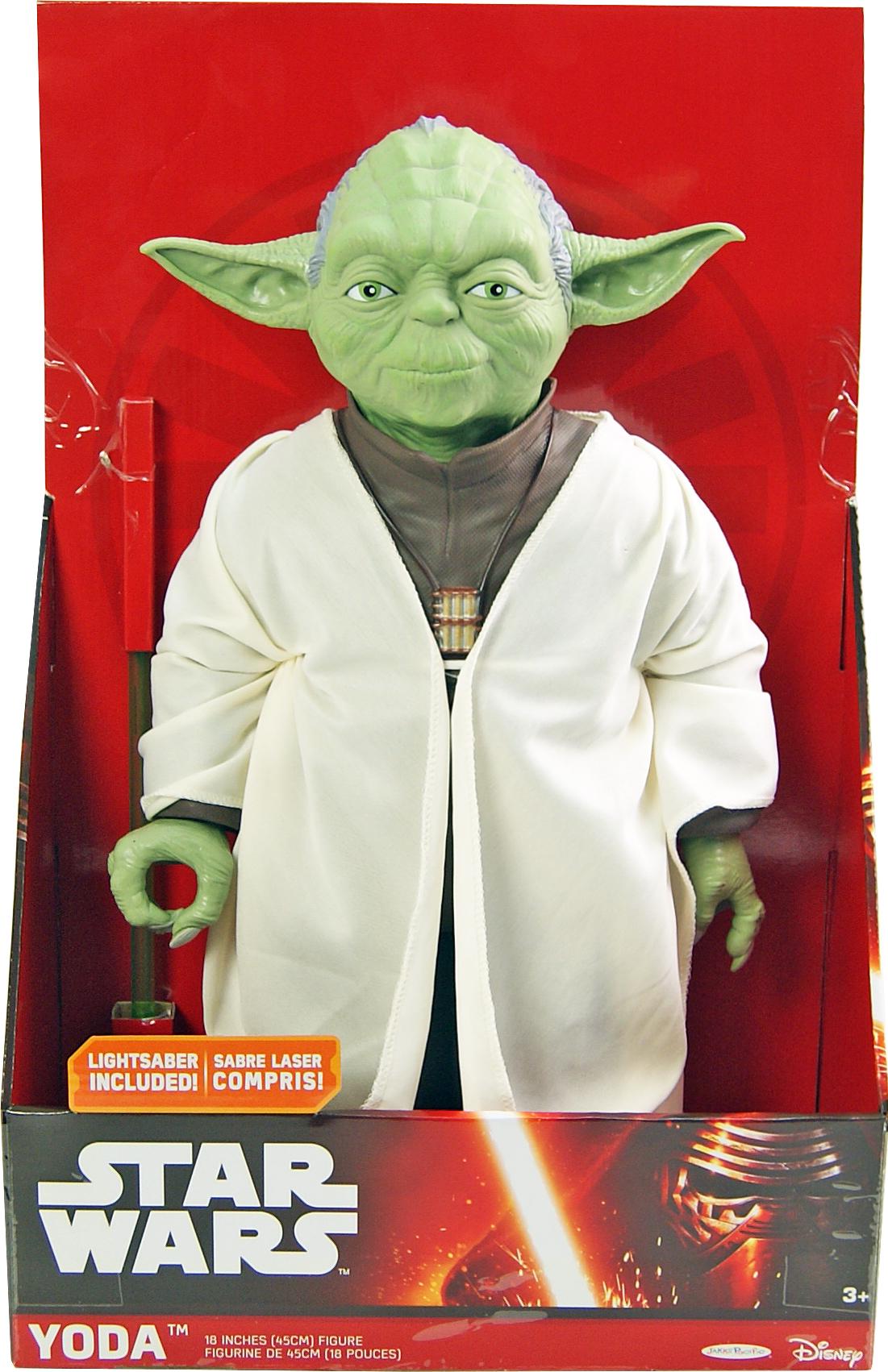 Іграшковий герой Йода 90819 у відкритій коробці 30,48*45,7*15,24 cм