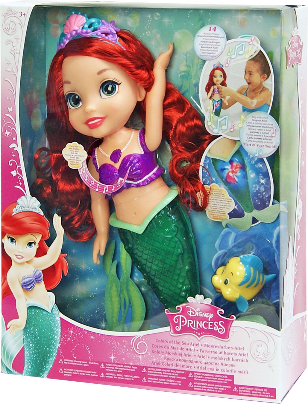 Іграшка лялька Disney Аріель 96385 світло і музика, на бат., в кор. 10*30*38см