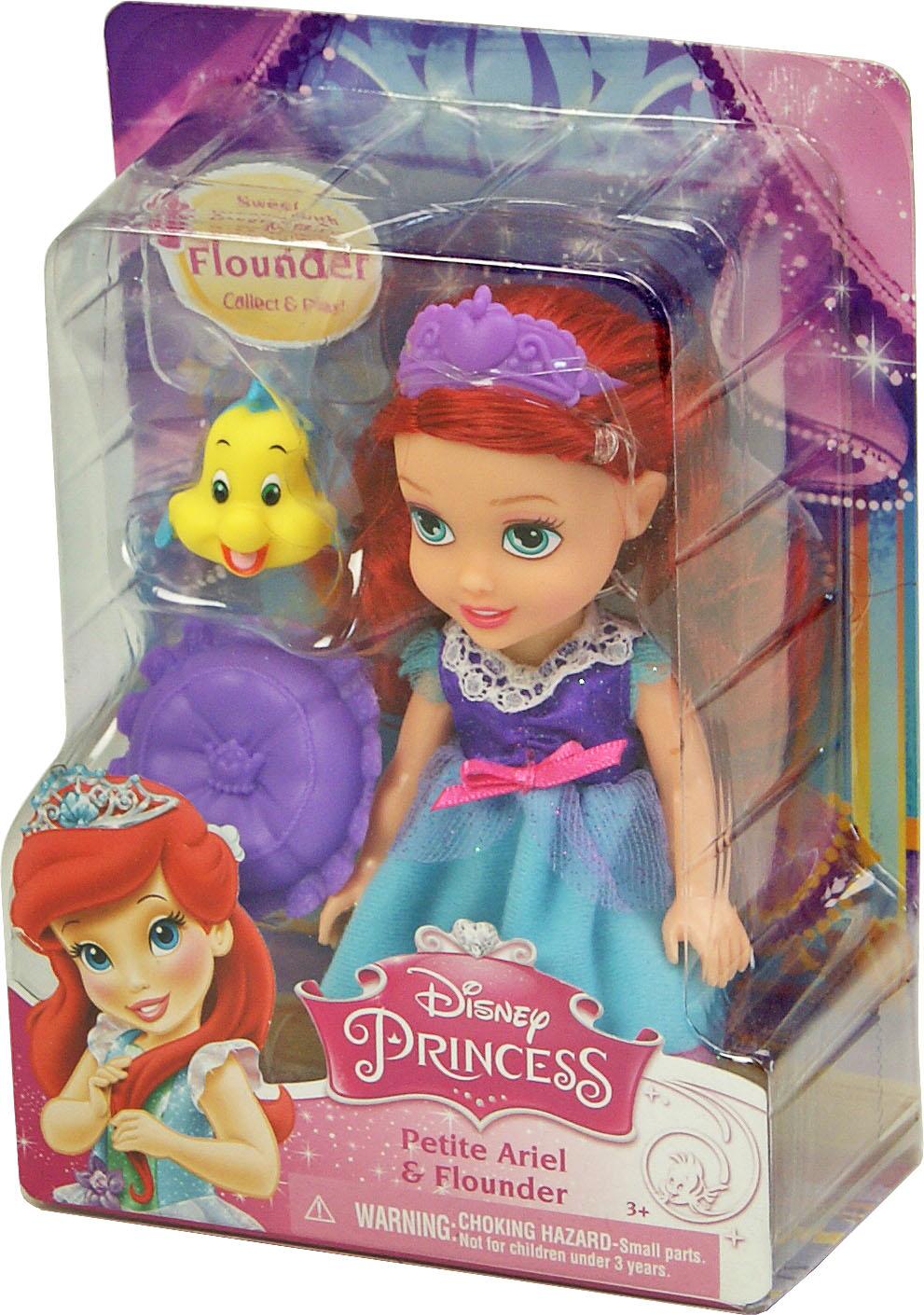 Іграшка лялька Disney Аріель арт.86862 (75833) блістер 7*14*19см