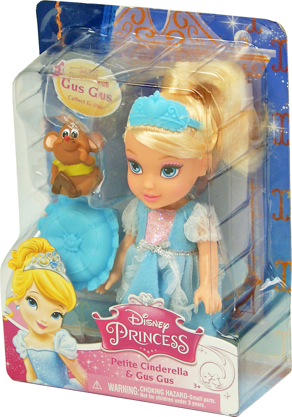Іграшка лялька Disney Попелюшка арт.86862 (75969) блістер 7*14*19см