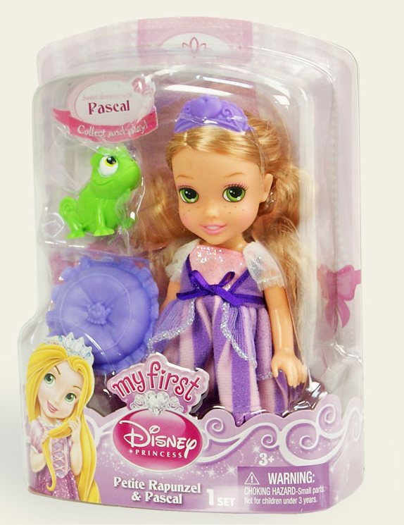Іграшка лялька Disney Рапунцель арт.86862 (75832) блістер 7*14*19см