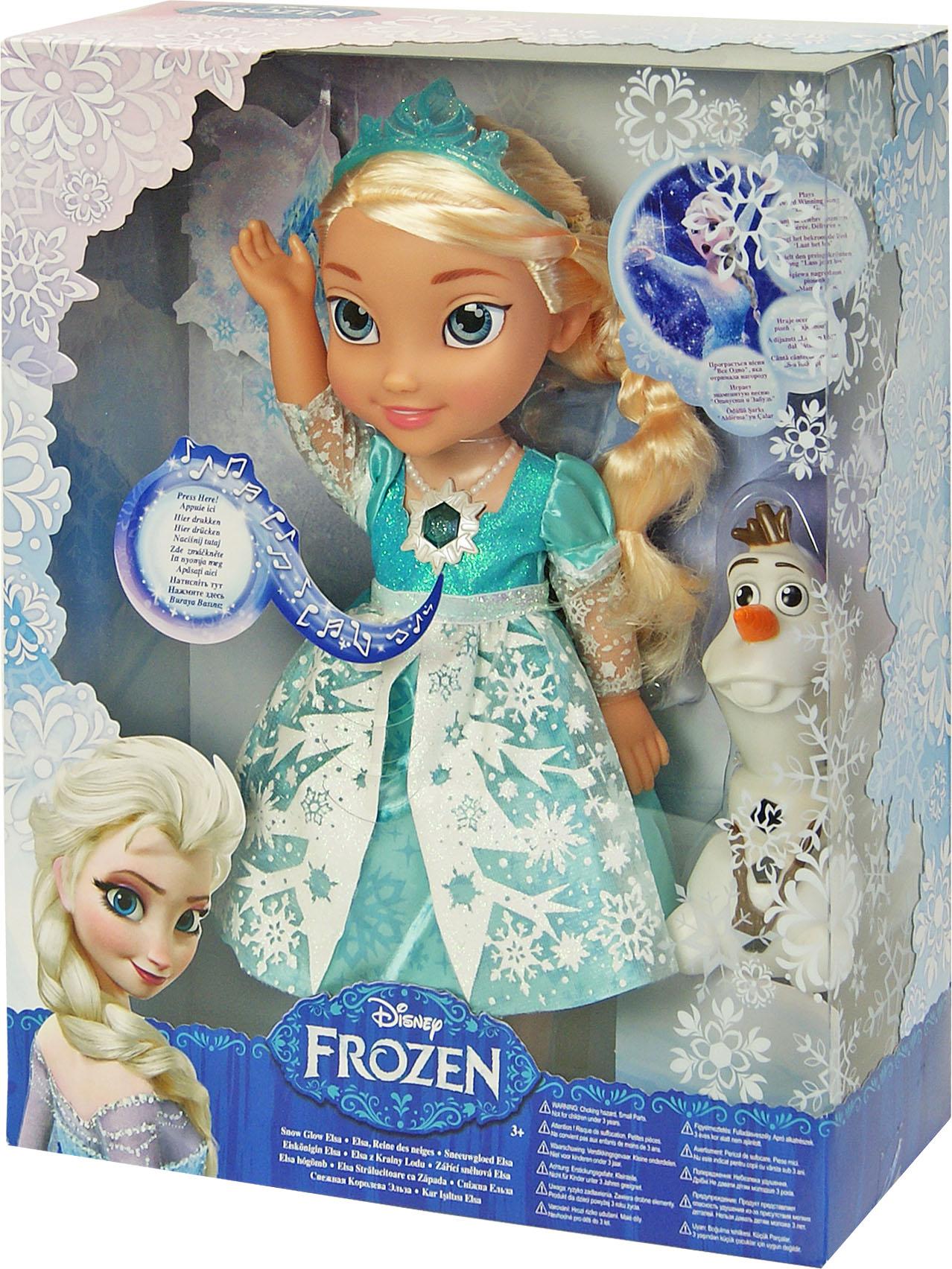 Іграшка лялька Frozen сяюча Ельза арт.31058 світло і музика, на бат., в кор. 12*30*38с