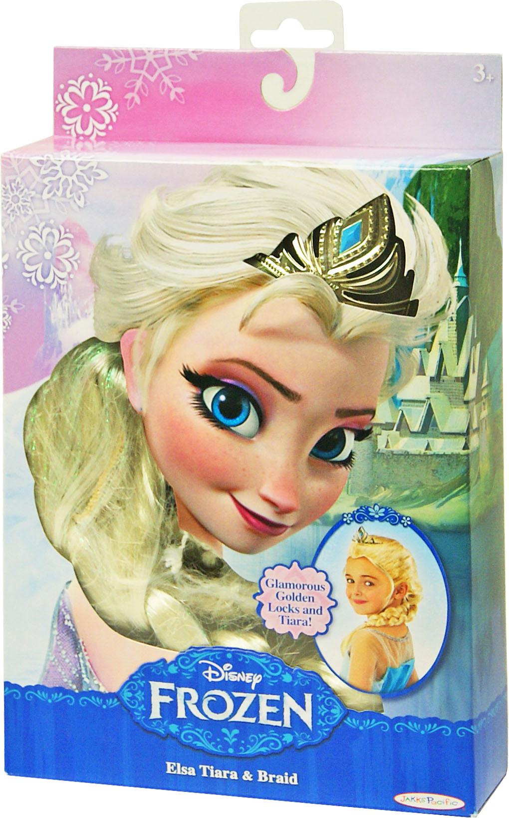 Іграшка перука Frozen Ельза арт.75902/2 блістер 17,78*27,94*5,08см