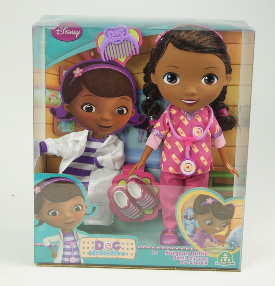 Іграшка лялька ТМ Doc MC Stuffins арт. GPH90145/UA хiрург 28 см у кор. 28*30,3*11,5