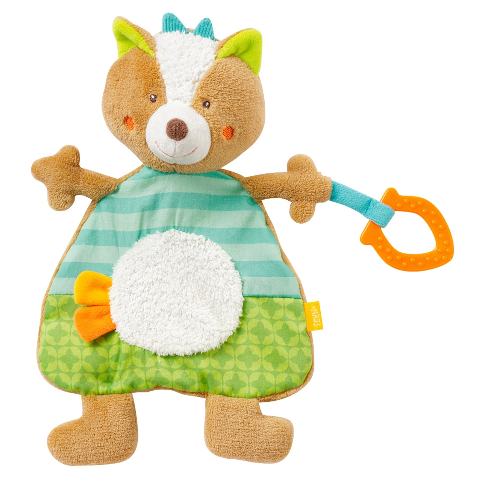 Игрушка-грызунок Baby Fehn Лис Арт.: 071221 (12 шт)
