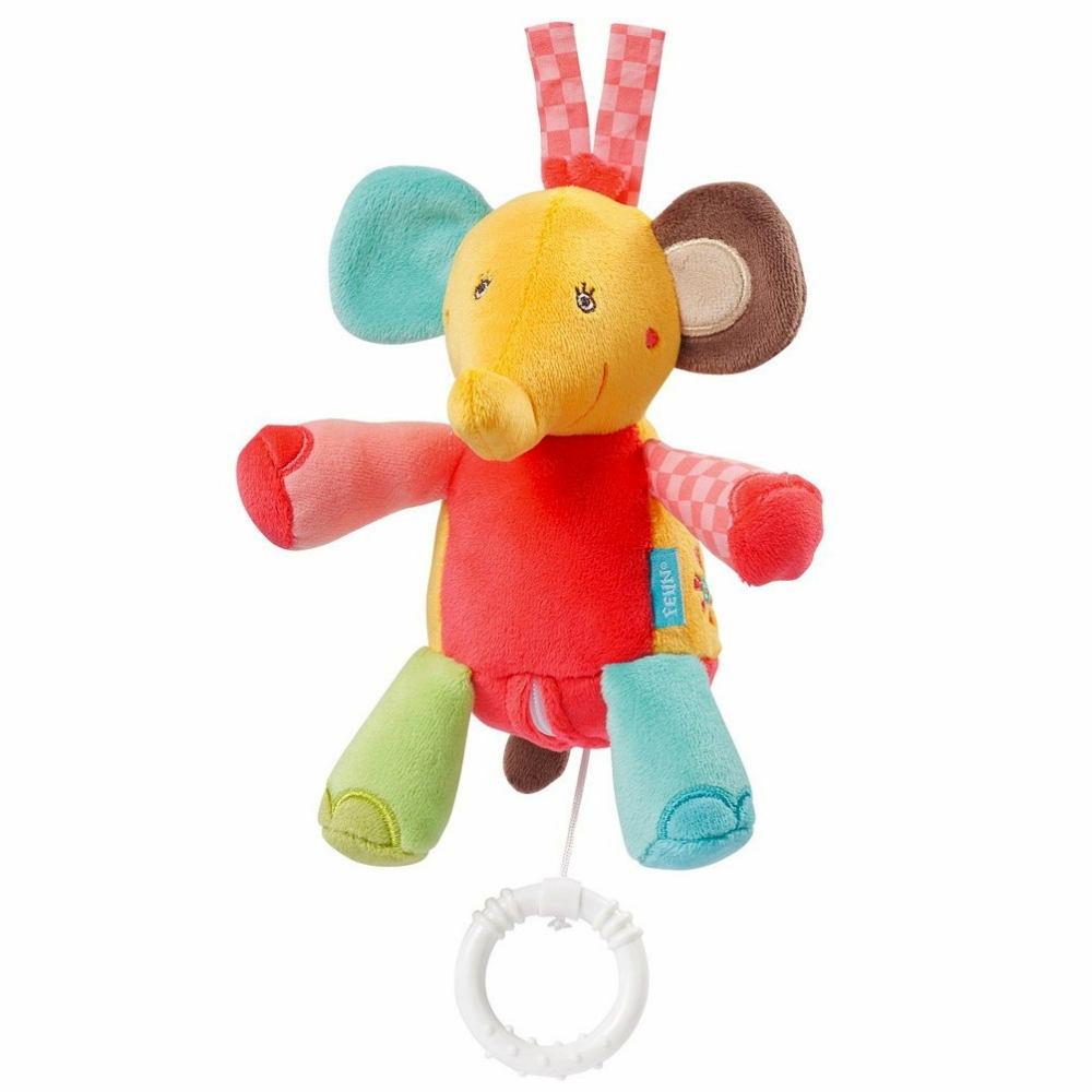 Музыкальная игрушка Baby Fehn Слон Арт.: 074031 (12шт)