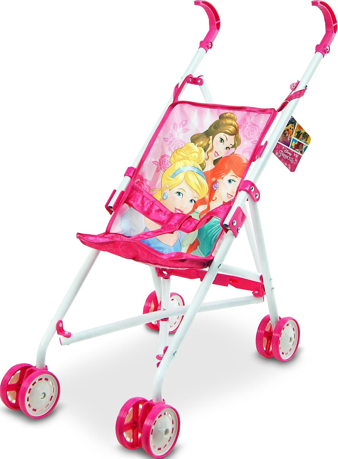 Коляска Disney Princess Арт.: D1001P (летняя, 8 колес, крутящиеся)