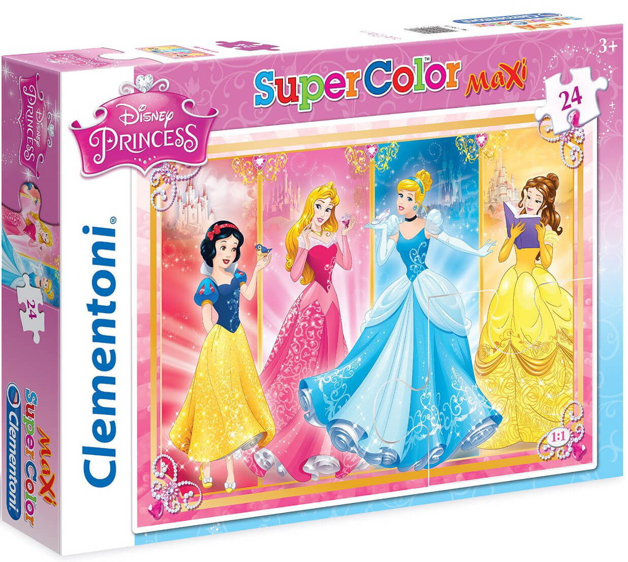 Пазлы Clementoni/Disney Princess  арт 24471 (24 эл., maxi)