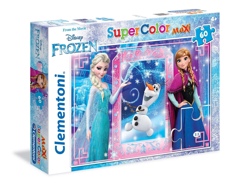 Пазлы Clementoni/Frozen арт.: 26411 (60 эл., maxi)