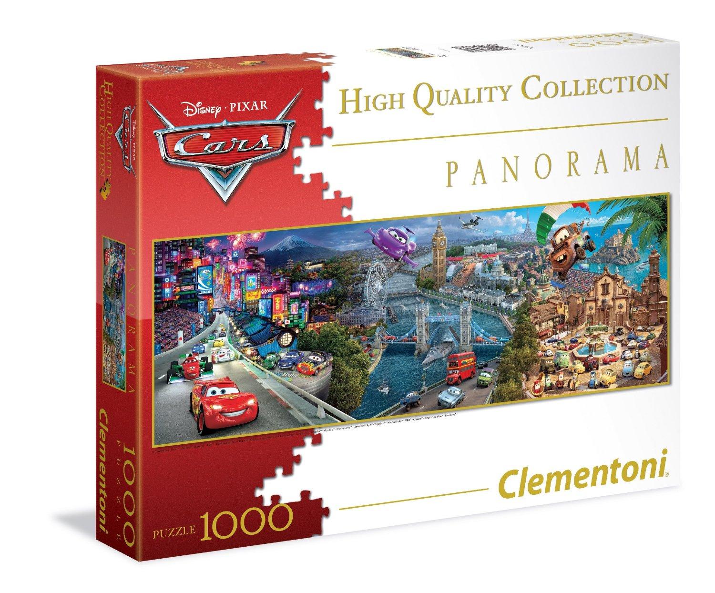 Пазлы Clementoni/Тачки  арт.: 39348 (panorama, 1000 эл.)