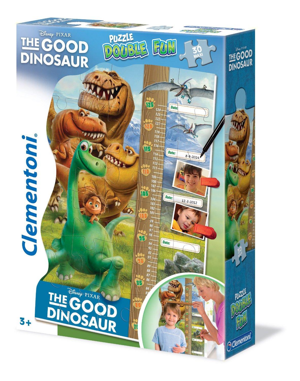 Пазлы Clementoni/Добрый динозавр арт.: 20314 (ростомер, 30 эл. maxi)