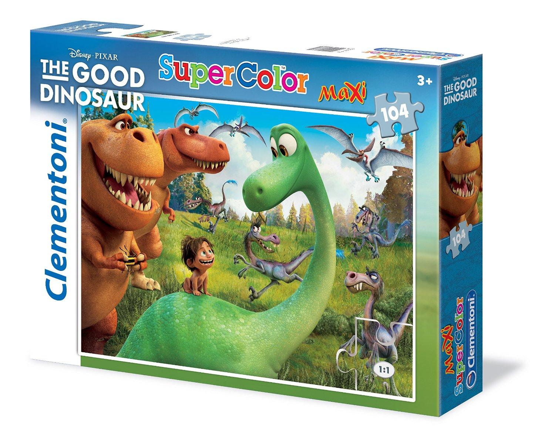 Пазлы Clementoni/Добрый динозавр арт.: 23683 (104 эл. maxi)