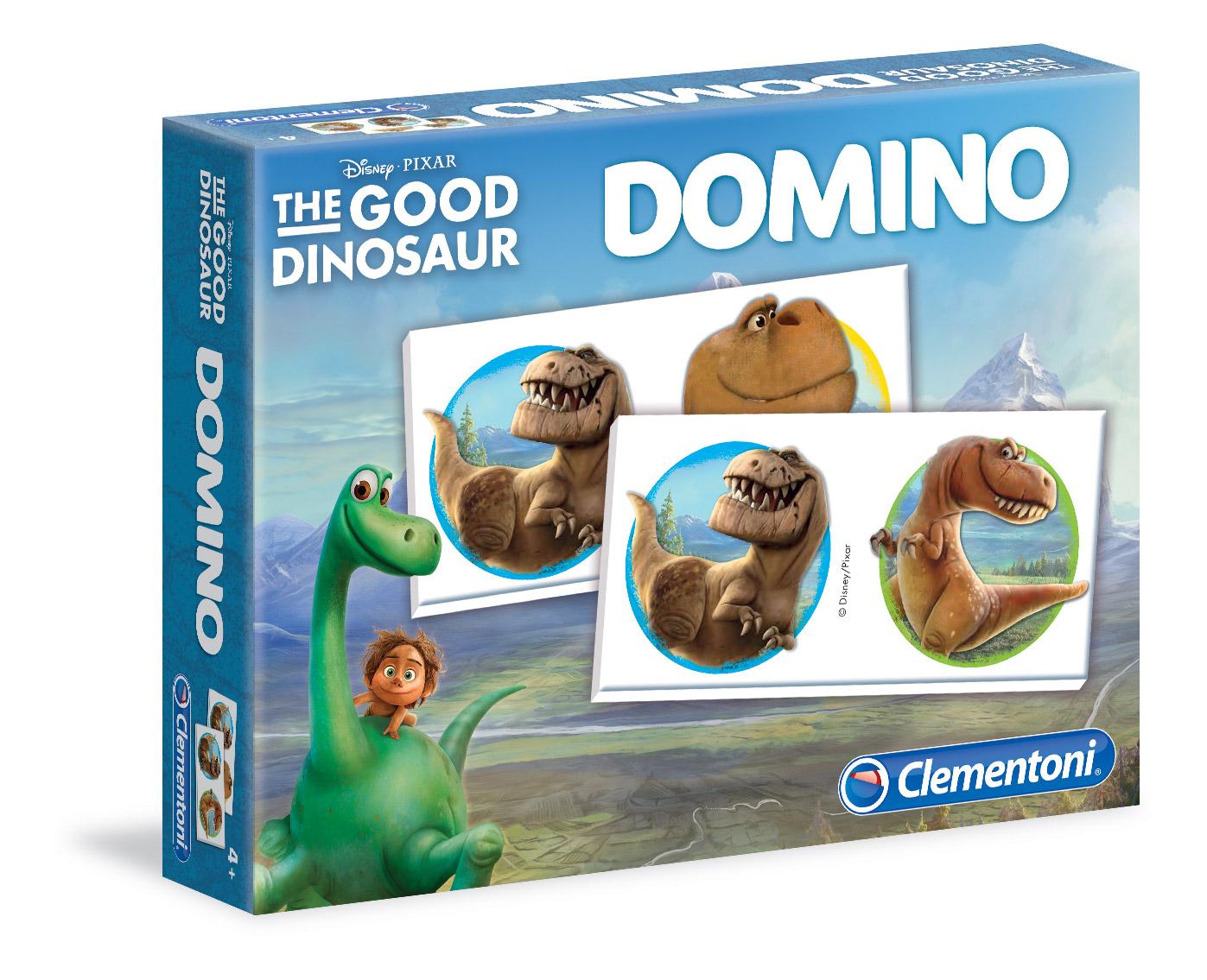 Домино Clementoni/Добрый динозавр арт.: 13485 (28 карточек)