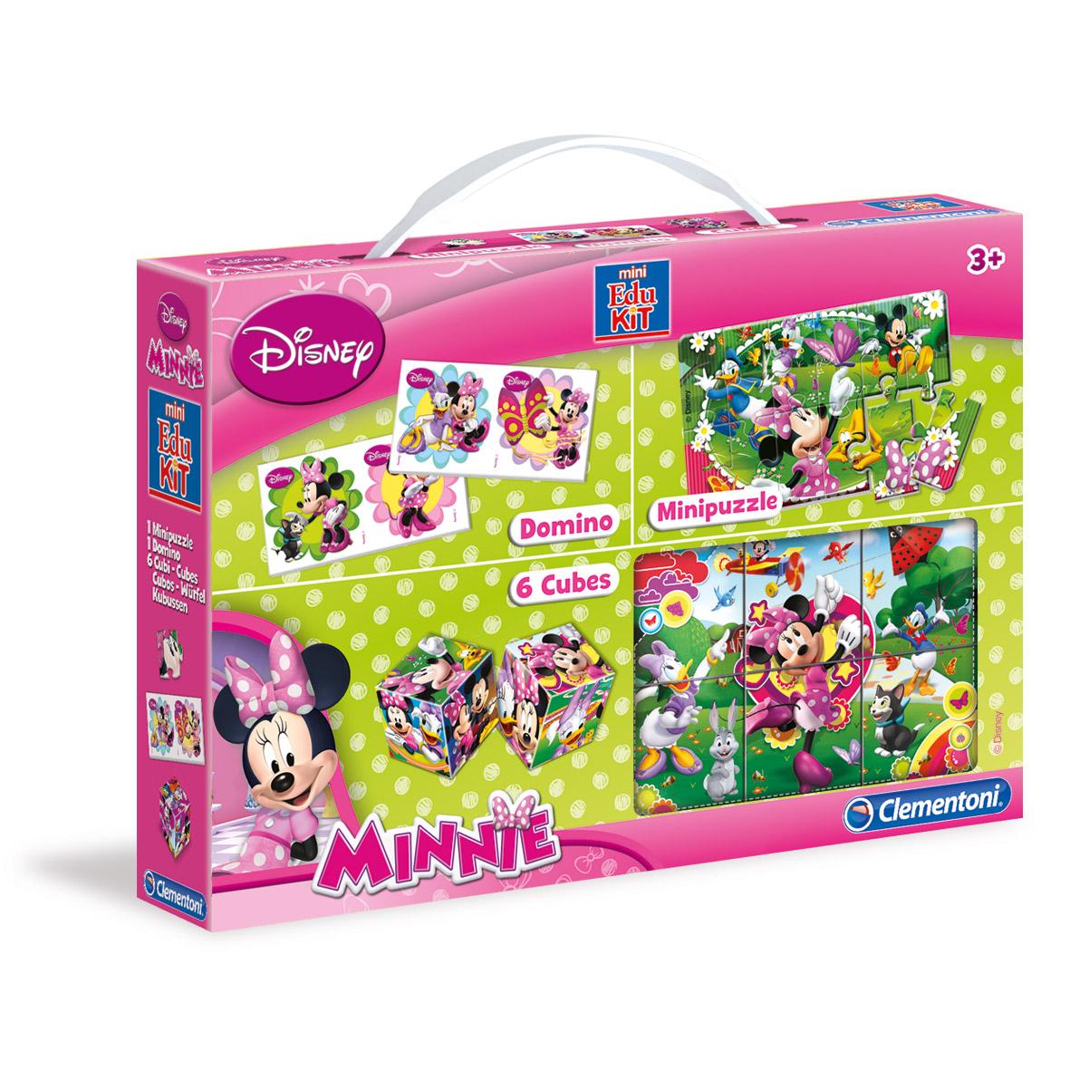 Іграшка розвиваюча Сlementoni/Minnie арт.: 13789 (кубики, пазлы, домино)