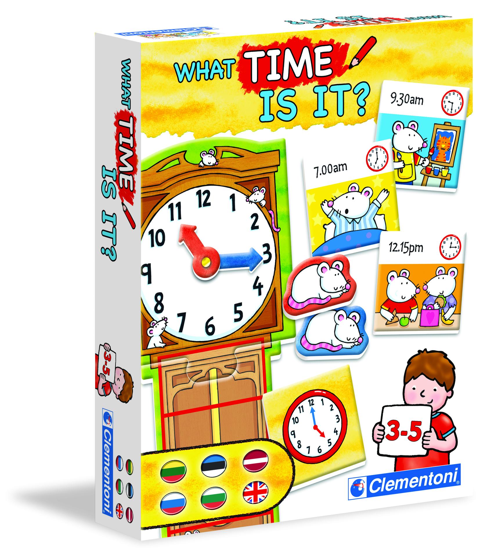 Игра Clementoni часы арт.: 60396