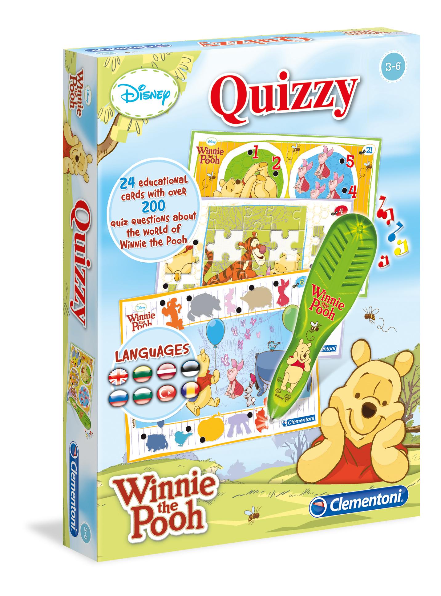 Музыкальные пазлы Clementoni/Winnie the Pooh  арт.: 60386