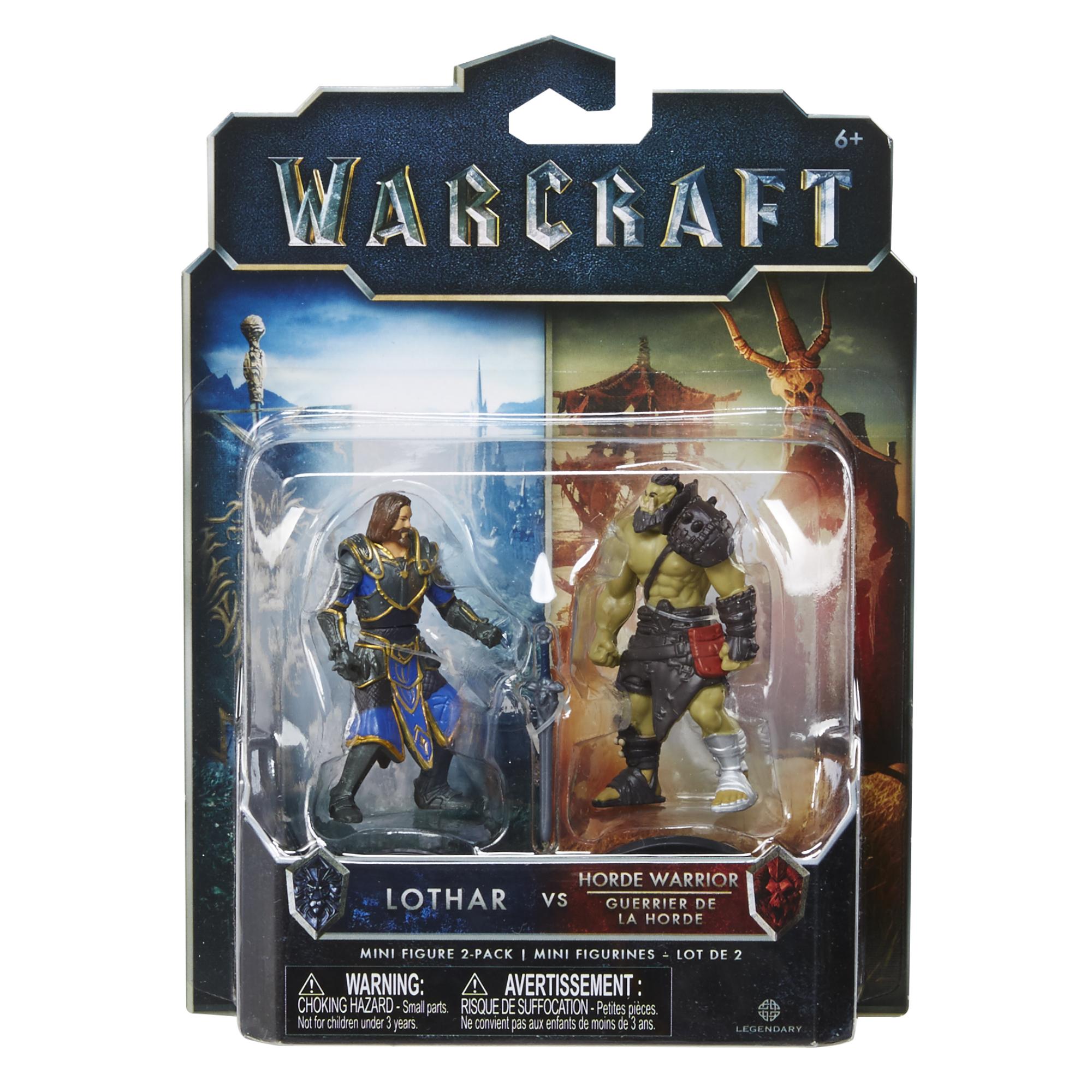 Лотар и воин Орды  Warcraft/Jakks Pacific арт.: 96252