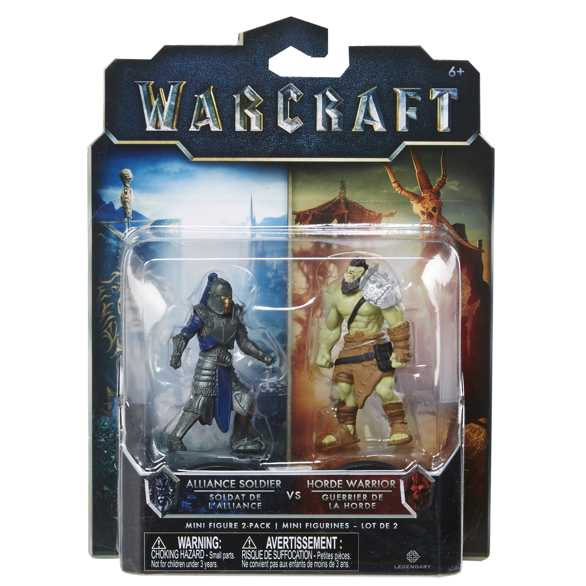 Солдат и орк Warcraft/Jakks Pacific арт.: 96255