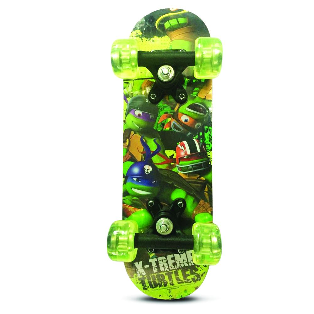 Скейт Черепашки Ниндзя Nickelodeon арт.:SN0101 (колеса PVC, 43*13см)