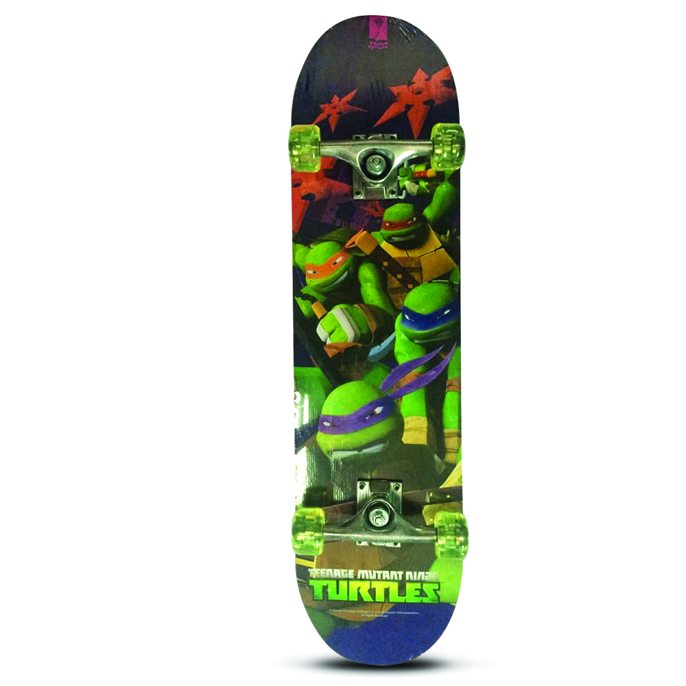 Скейт Черепашки Ниндзя Nickelodeon арт.: SN0102 (колеса PU, 79*20см)