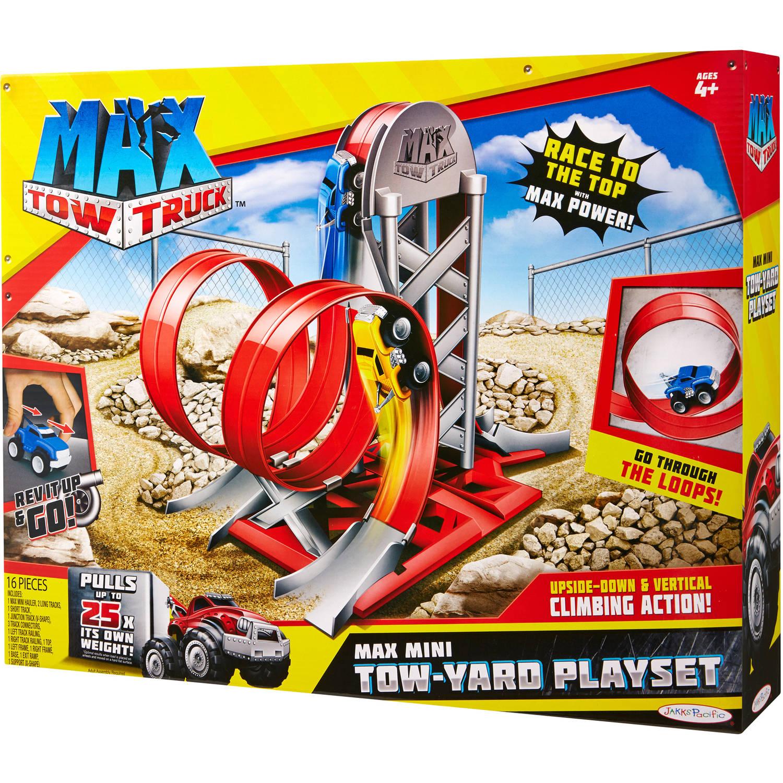 Автомобильный трек Мax Tow Truck/Jakks Pacific арт.: 87239