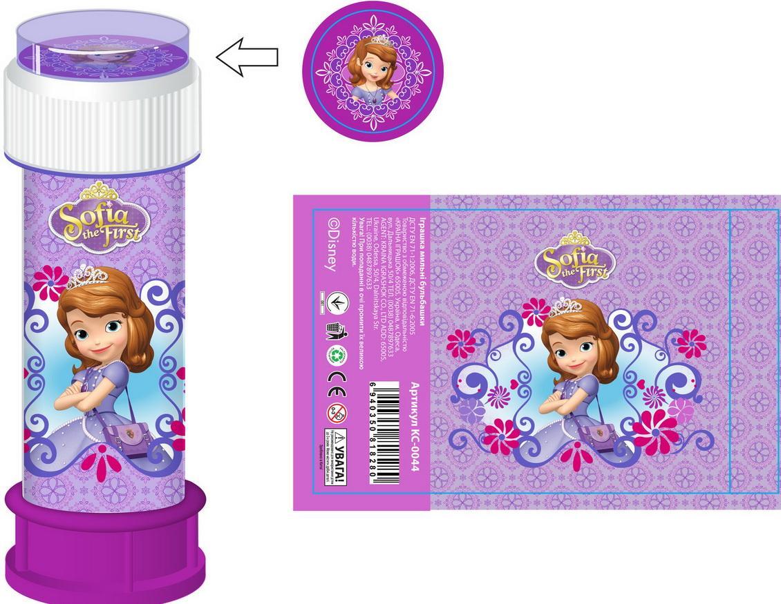 Іграшка мильні бульбашки Софія KC1612 36 шт в кор