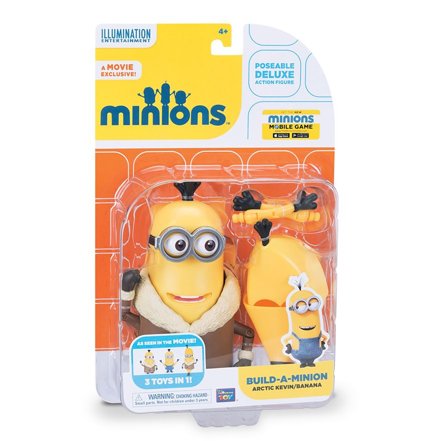 Minions Кевин с аксес фігурка Thinkway Toys (арт.: 20060(20183))