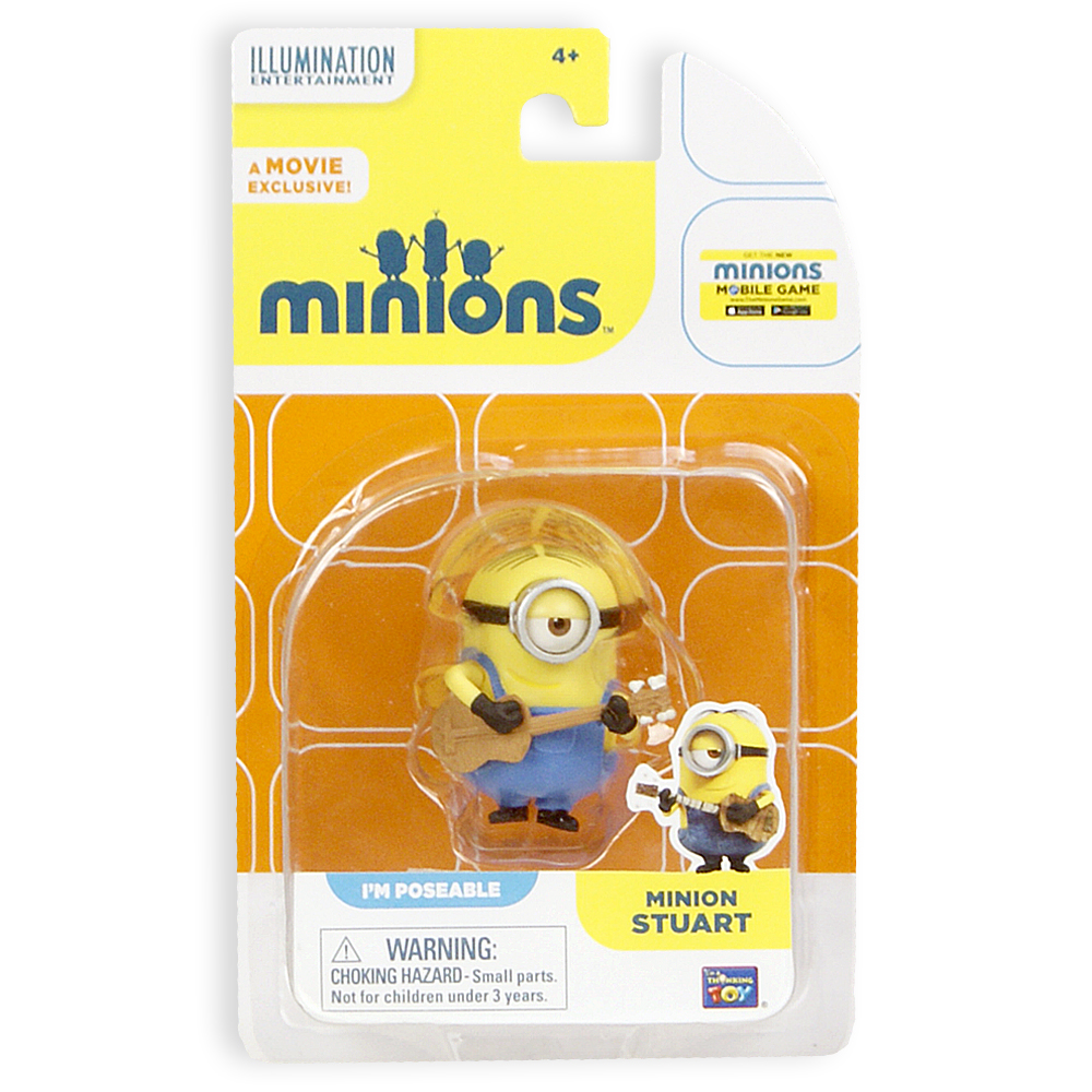 Minions Стюарт фигурка Thinkway Toys (арт.: 20080(20212))