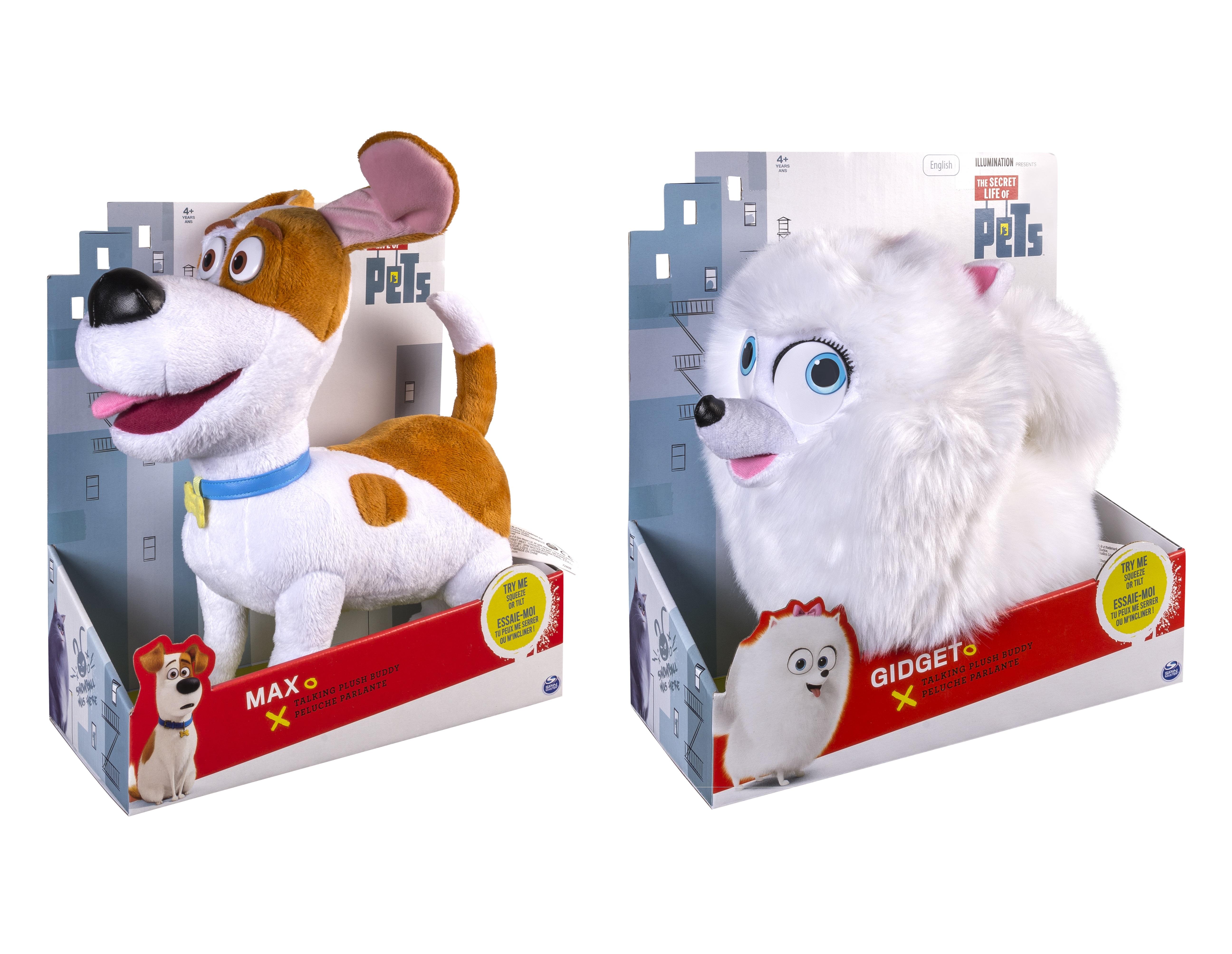 Мягкие игрушки Макс и Гиджет Тайная жизнь дом животных Spin Master (арт.: 6027237)