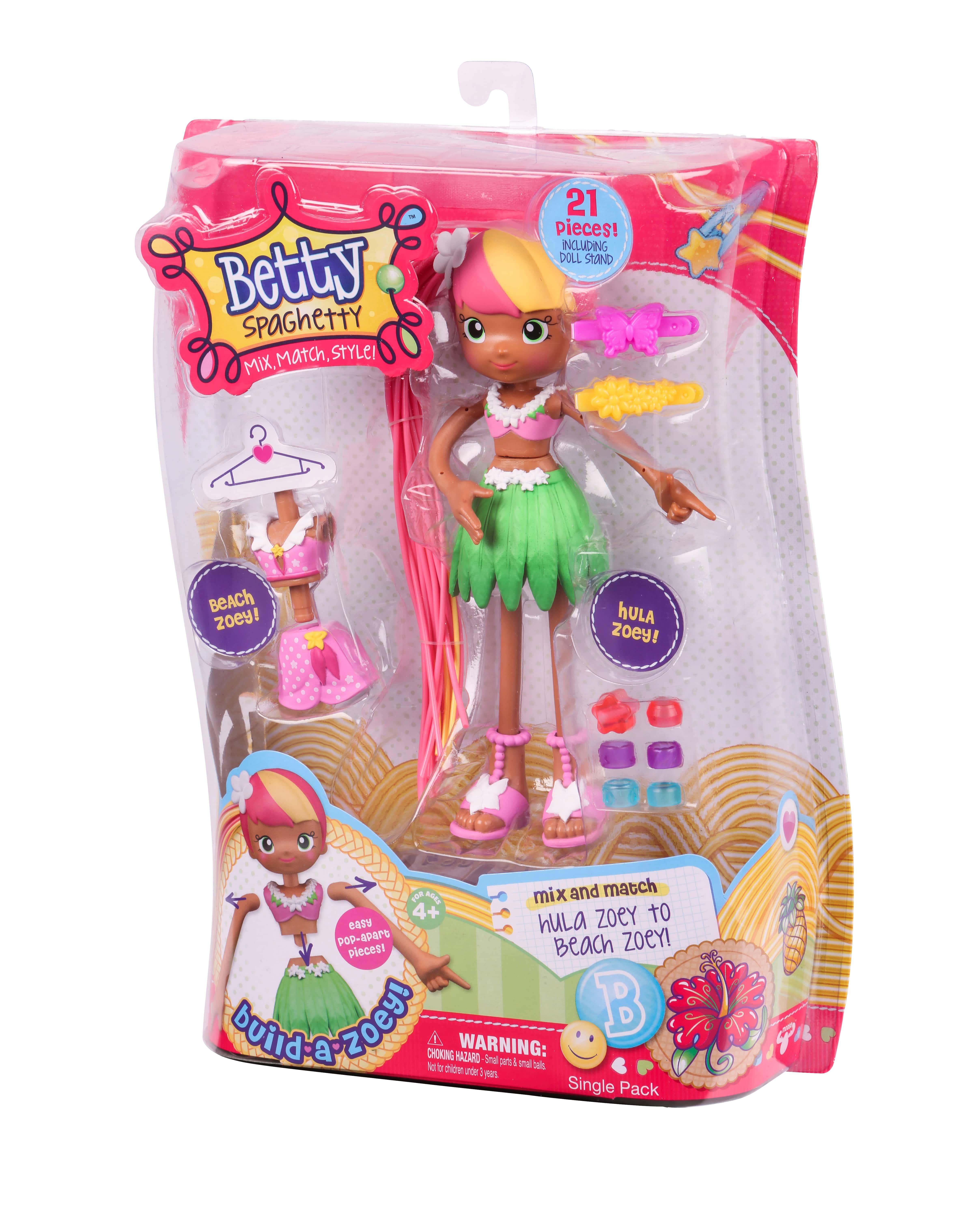 Кукла-конструктор Moose Betty Spaghetti в летней одежде арт 59000 (59005)