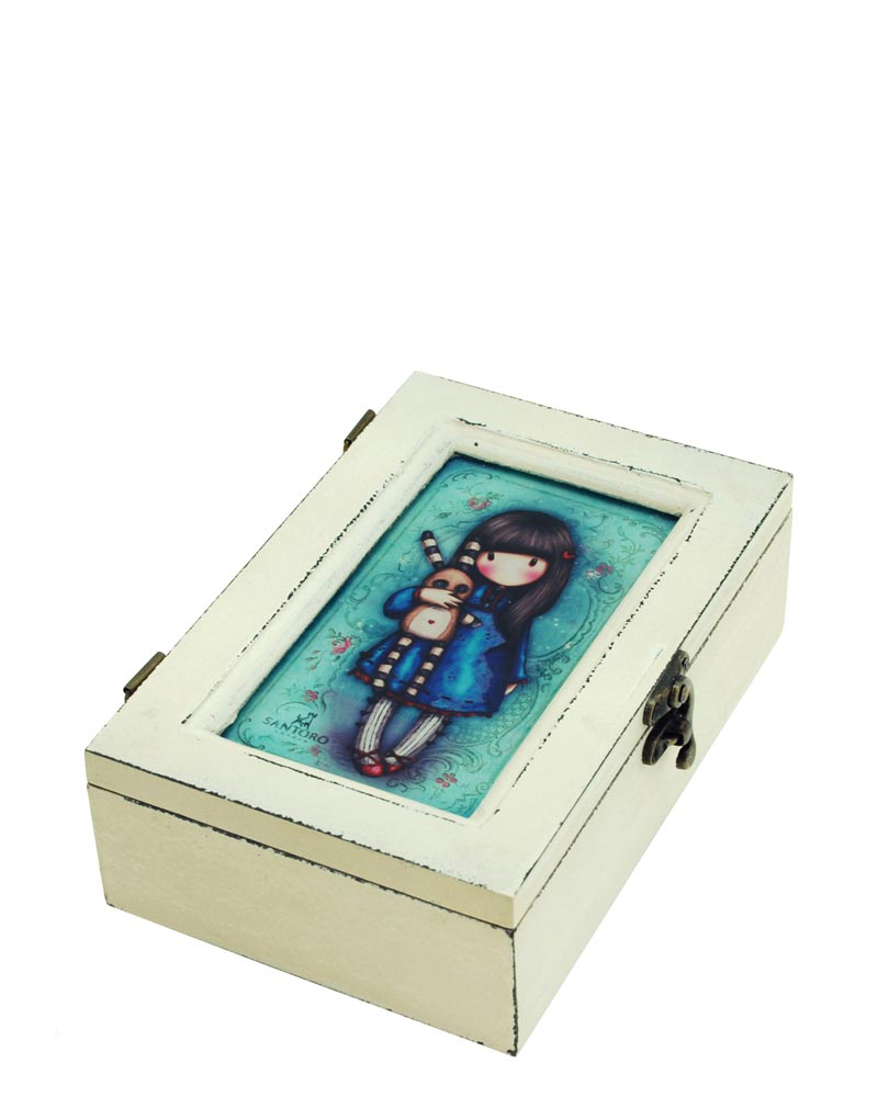 Деревянная шкатулка Santoro Gorjuss Little Bunny    Арт. 520GJ02