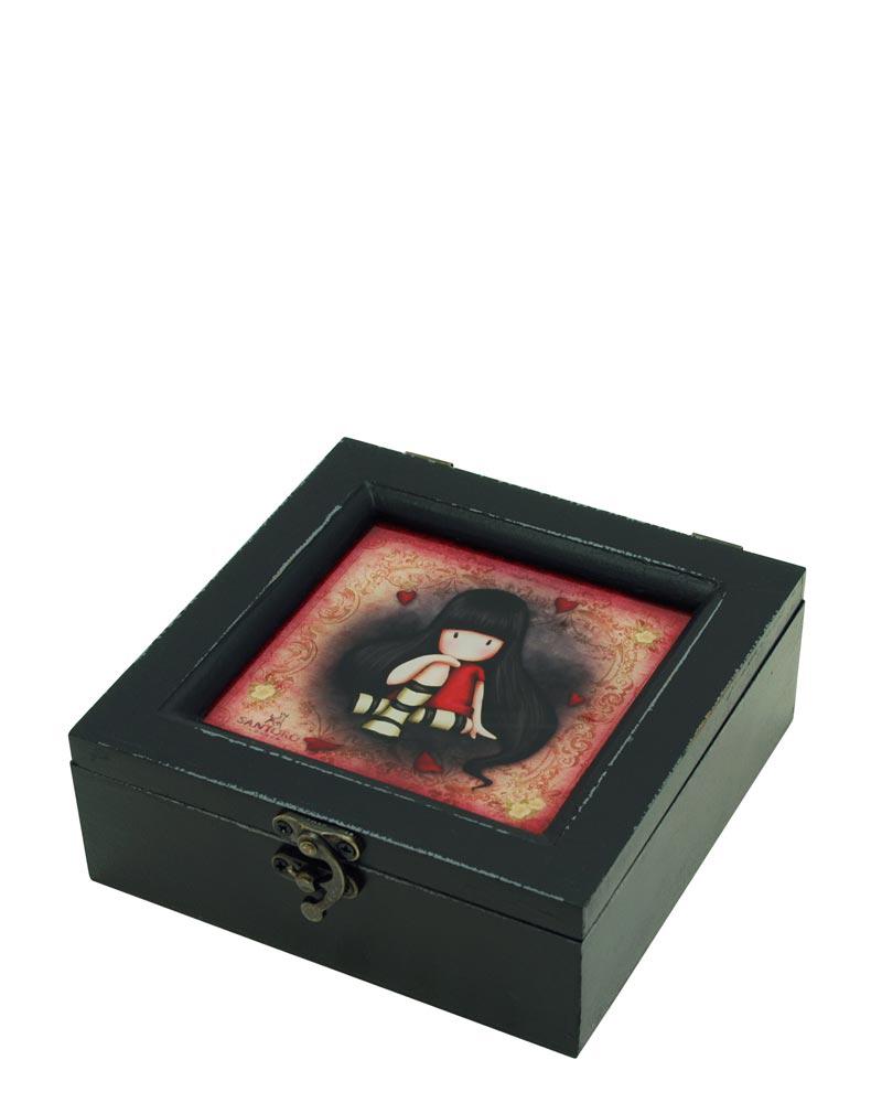 Деревянная шкатулка Santoro Gorjuss The Collector   Арт. 521GJ02