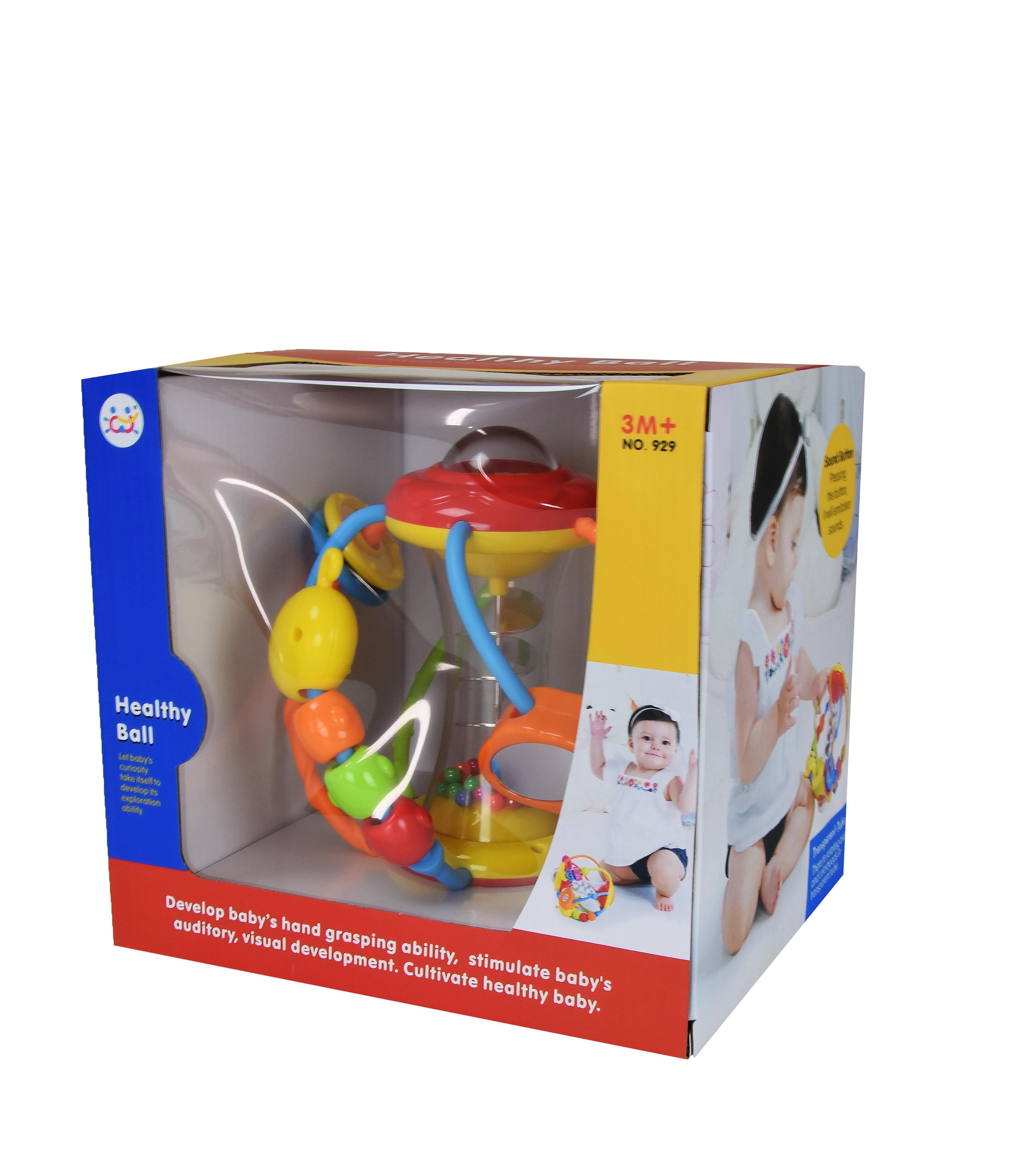 Іграшка арт 929 Брязкальце 20,5*19*17,5 см в коробці