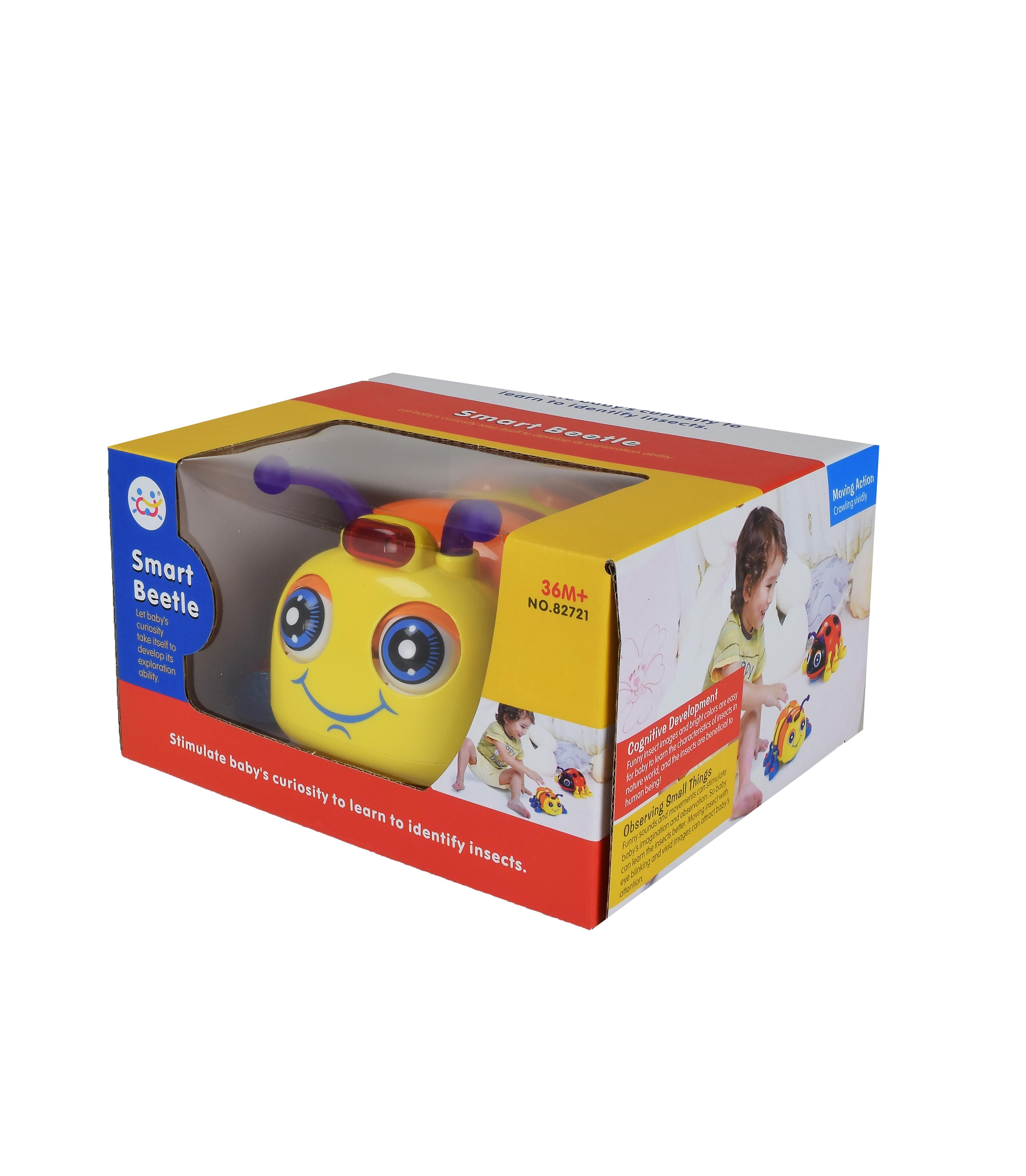 Іграшка музична розвиваюча арт 82721BD Жучок 19*11*17 см в коробці