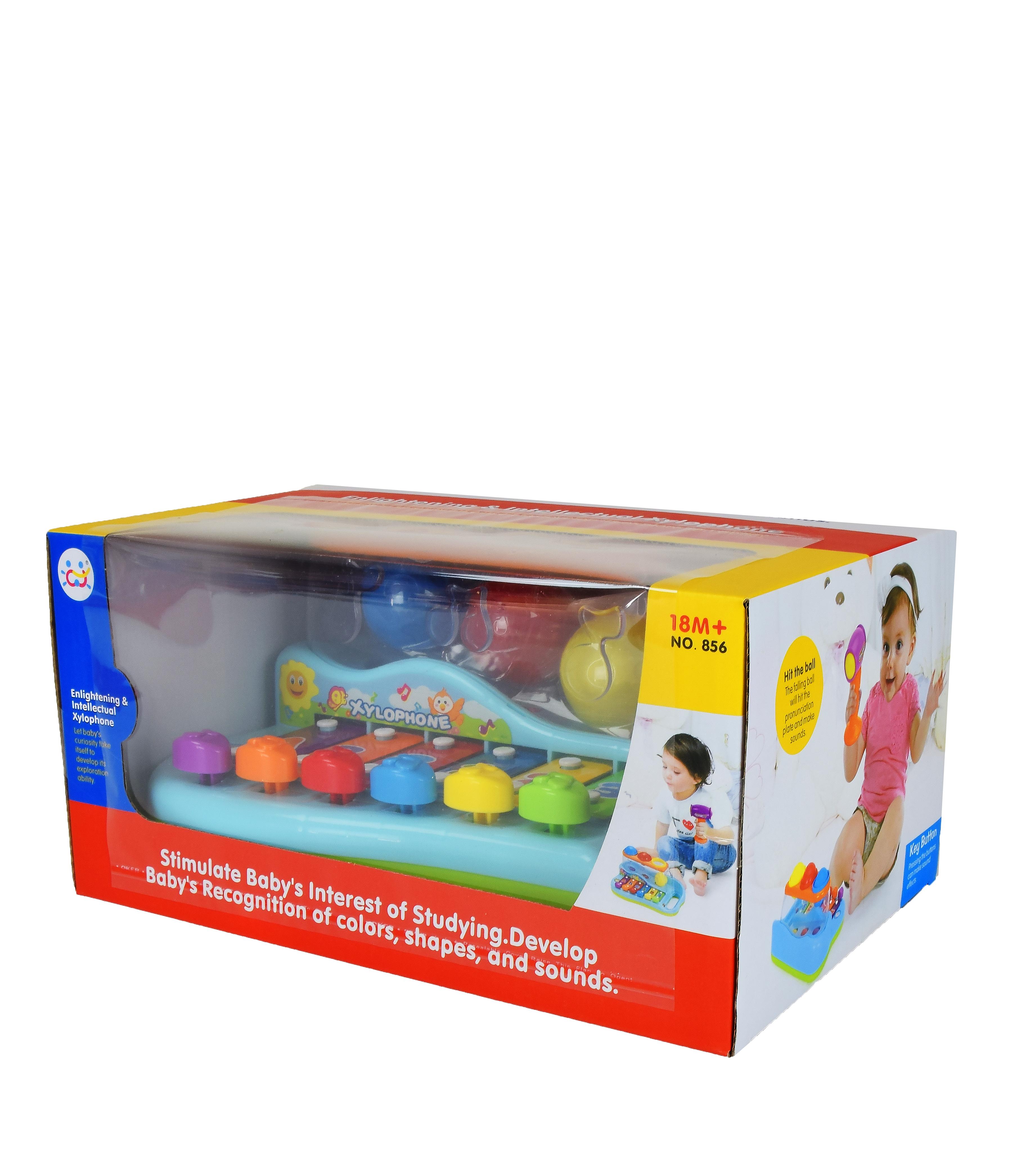 Іграшка розвиваюча арт 856 Ксилофон  28*18*14 см в коробці