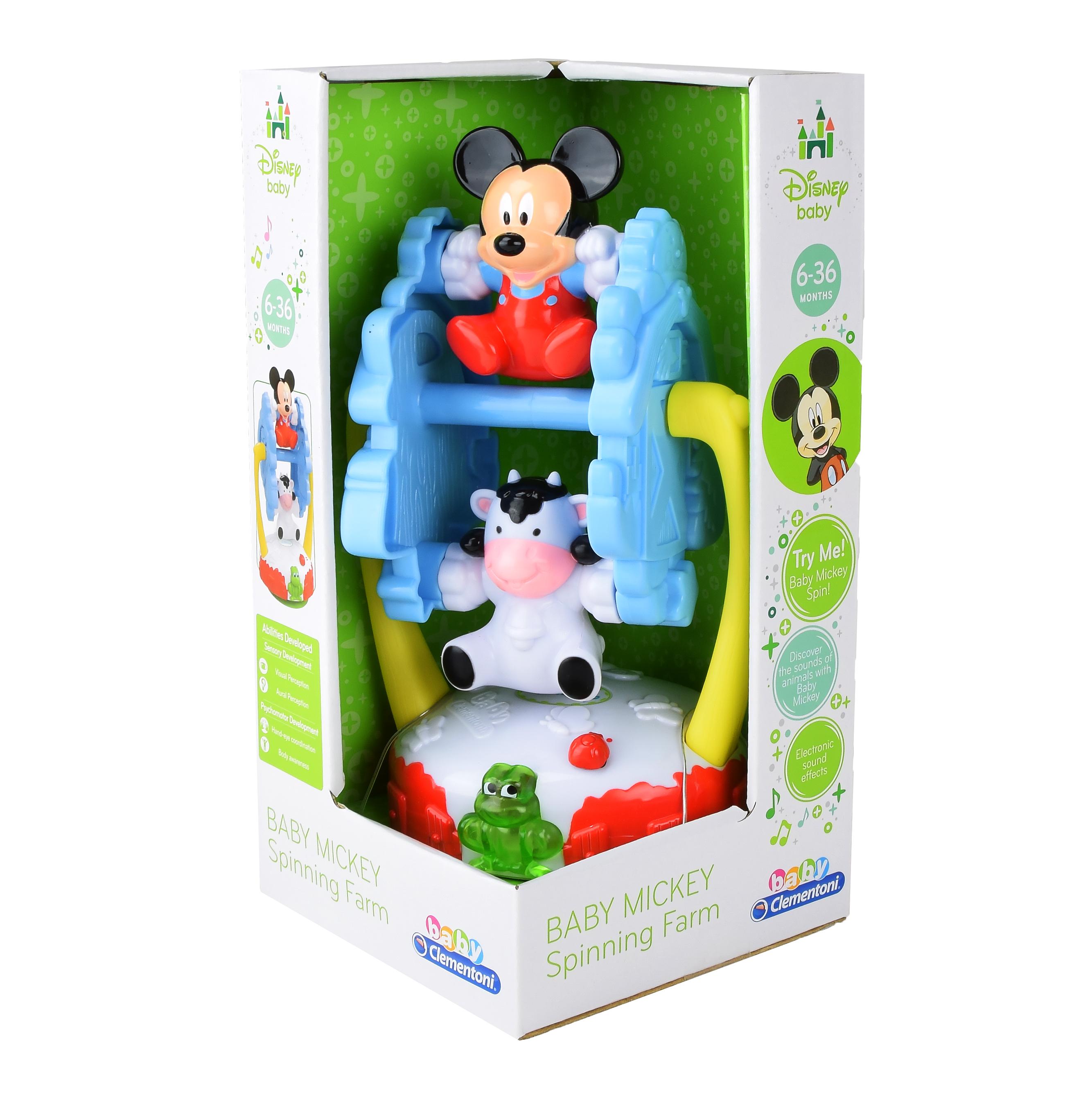Интерактивная игрушка Clementoni Ферма Микки Мауса   Арт. 14870