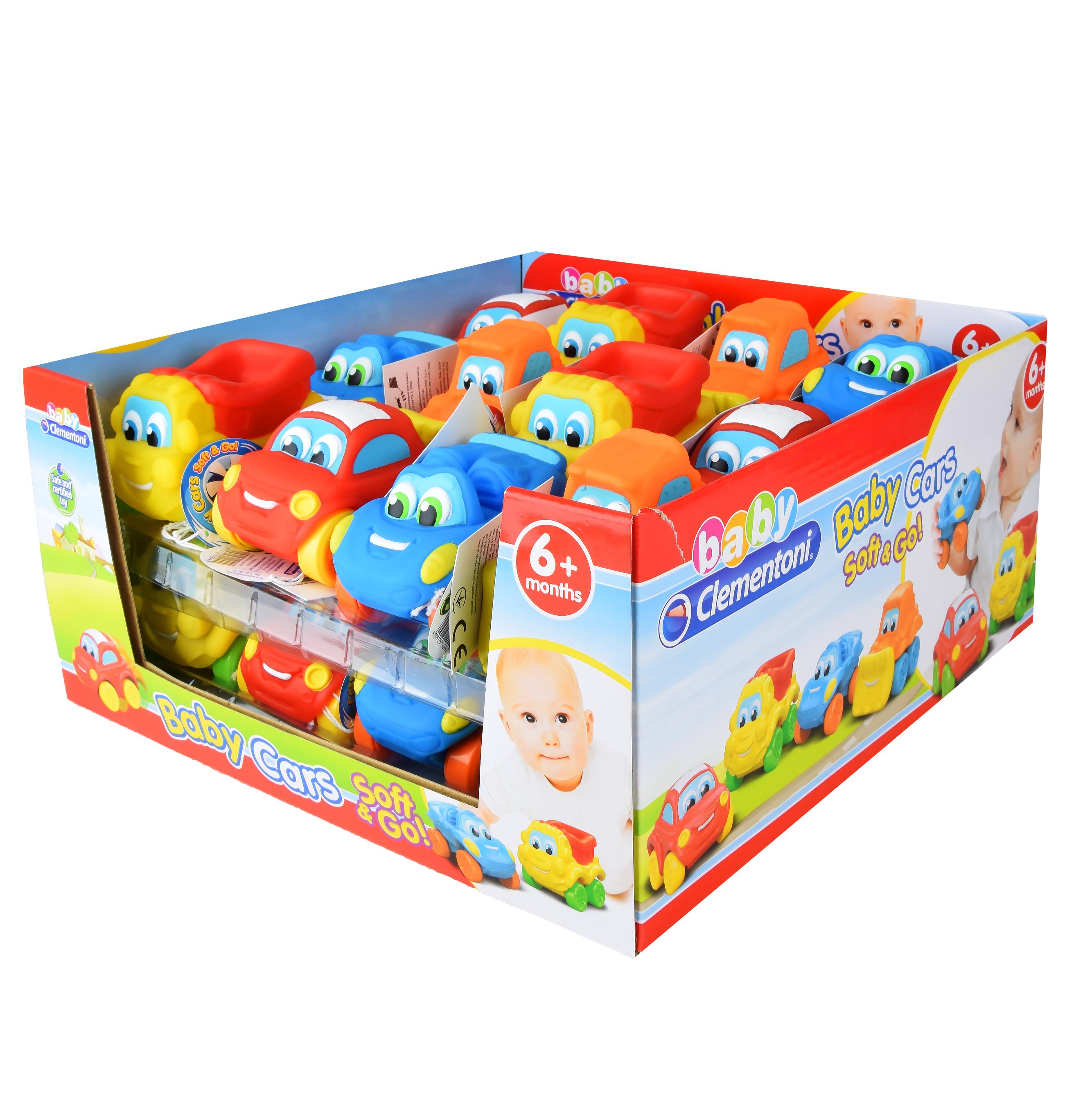 Игрушка Clementoni Детская машинка Арт. 14099  в дисплее 24 шт