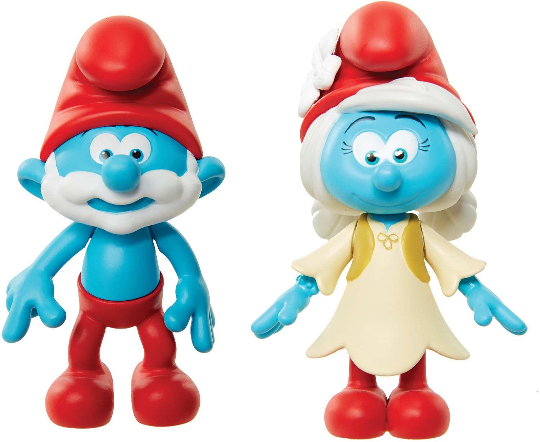 Игрушка фигурка арт. 96564 (96562) Smurfs Papa Smurf & Smurfwillow в блистере